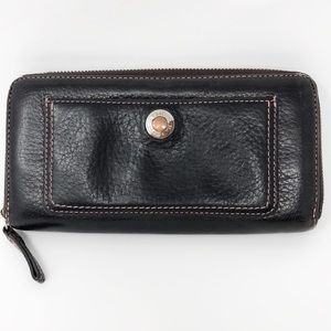 Coach Wallet Pebbled Leather